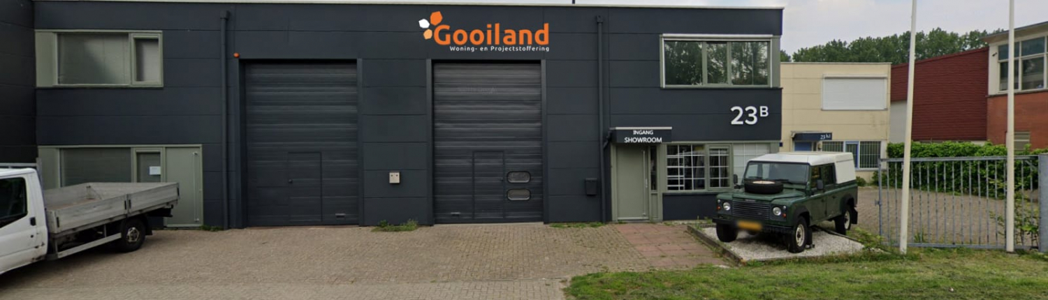 Gooiland showroom